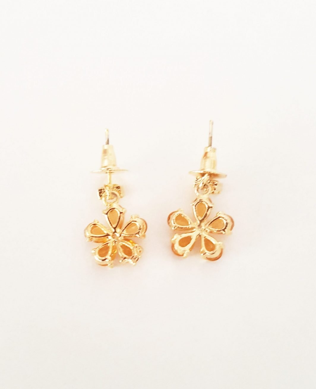 Simple Mustard Earrings