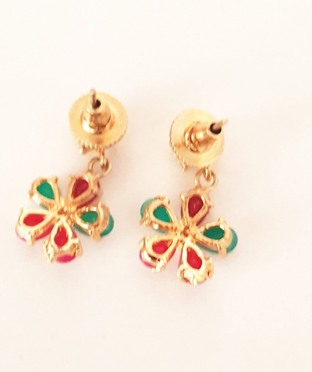 Coloured Stones Earrings