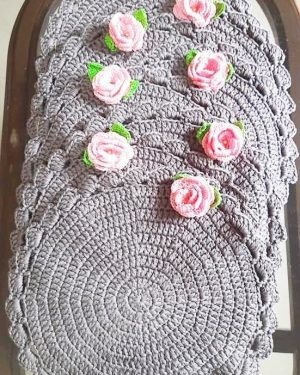 Crochet Dining Table Placemats