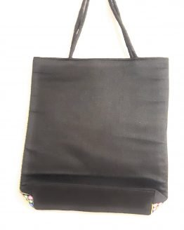 Floral & Elephant Printed Moody Tote Bag