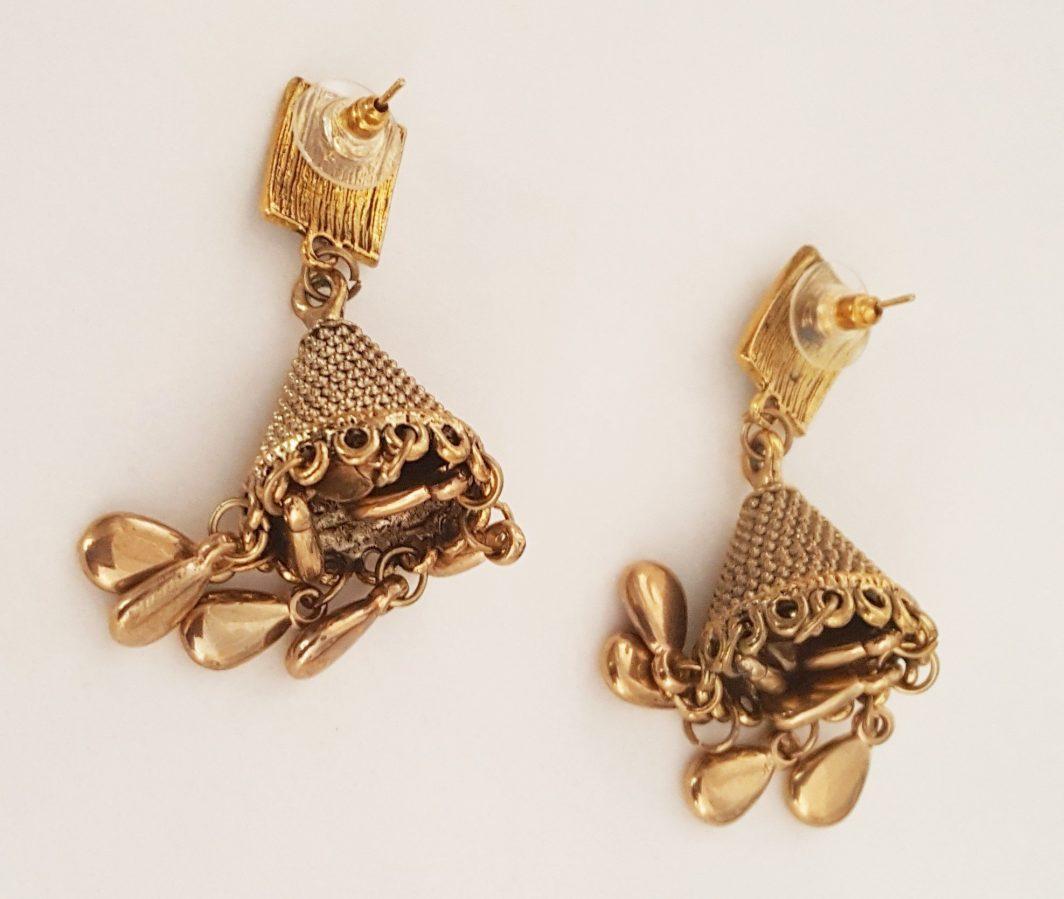 Jhumki Style Earrings
