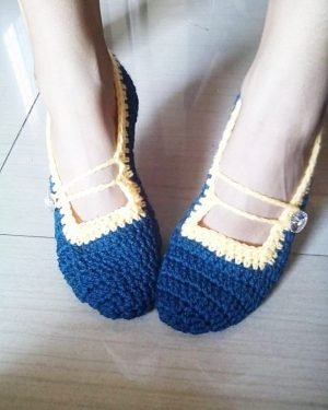 Hand Crocheted socks