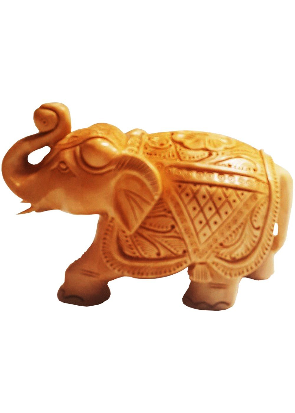 Wooden Handcarved Elephant 3 inches