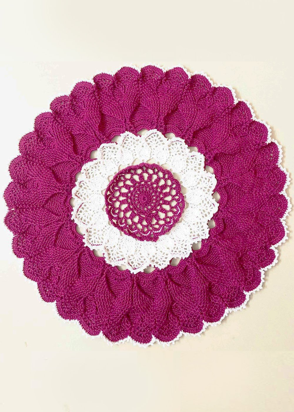Hand Crocheted Doily Placemat