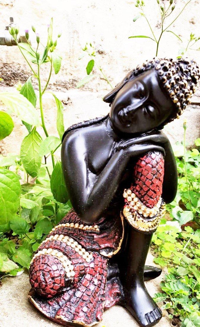 Buddha Statue Black