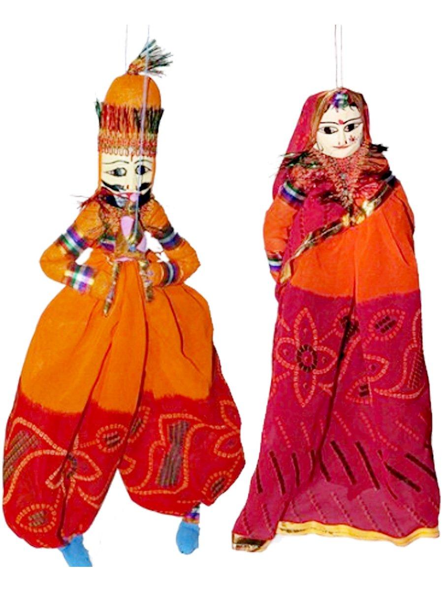 Handmade dancing puppets