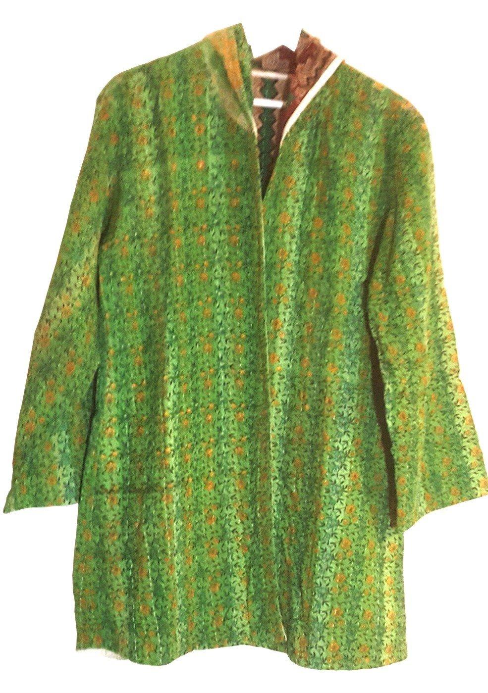 Kantha Jacket Green