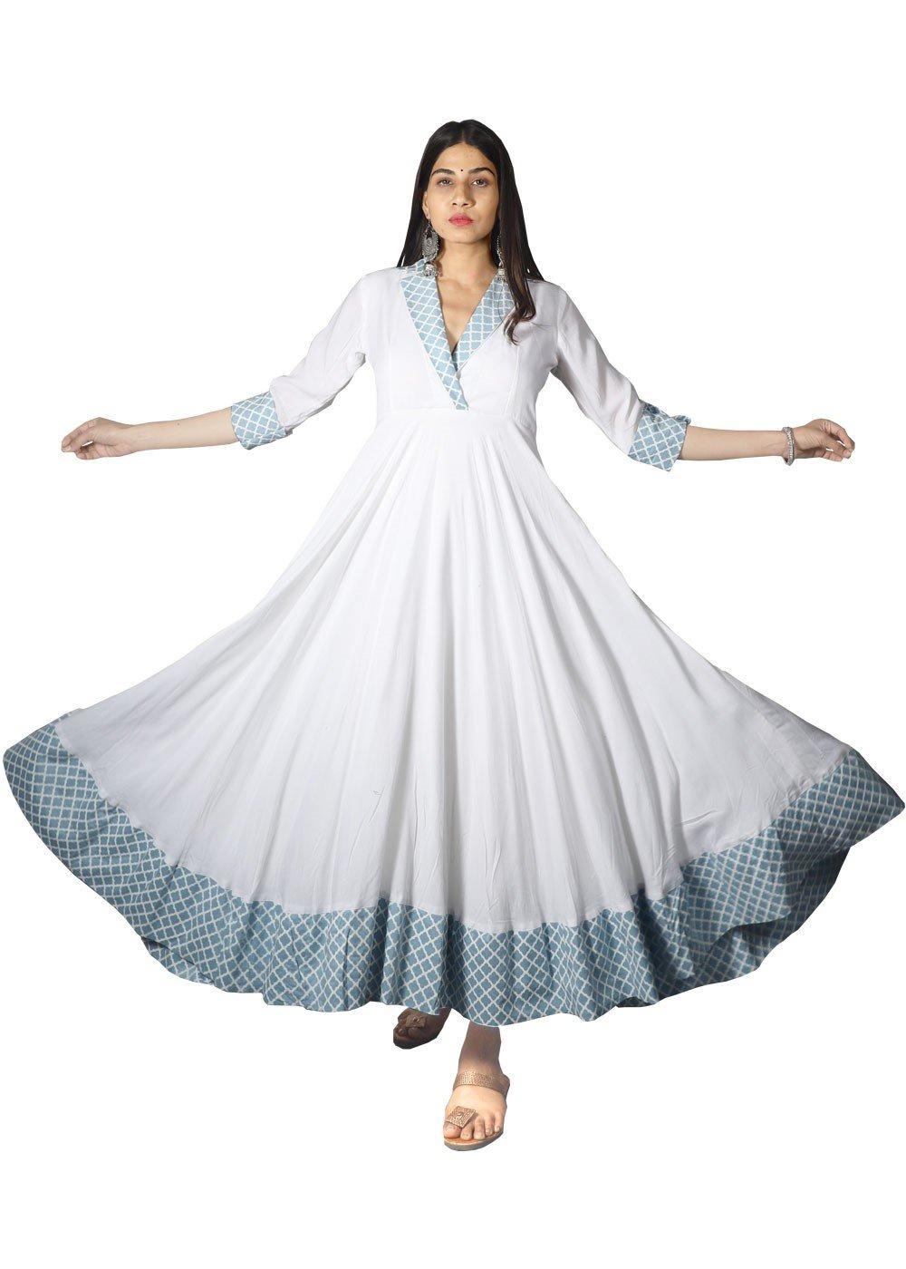 Plush Full Flared Maxi Dress